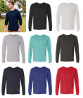 Fruit of the Loom SFLR Sofspun Cotton Long Sleeve T-Shirt Size S-3XL