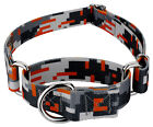 Country Brook Petz® Orange Digital Camo Martingale Dog Collar