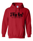 Christmas Pullover Hoodie Sweatshirt Funny 3 Three Wise Men You Can't Be Serious