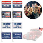 11.8*17.7 Inch Polyester Donald Trump Presidential Election Car Window Flag