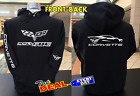 Corvette Racing Hoodie Back Front and Back