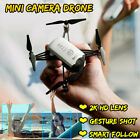 2.4G WIFI RC Drone Helicopter 2K HD 1080P Camera Wide-Angle Follow Me Quadcopter