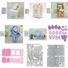 Assorted Gift Box Metal Cutting Dies Embossing Stencils Diy Scrapbooking Crafts