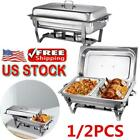Chafing Dish Buffet Set Stainless Steel Food Warmers For Parties Buffets Dishes