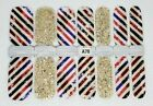 Color Nail Polish Strips Buy 5 Get 2 FREE U.S Seller Ombre Fall Holiday Solid