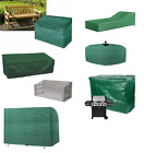 Waterproof Garden Patio Covers Furniture Rattan Table Cube Seat Cover Outdoor