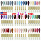 BORN PRETTY 6 Bottles Gel Nail Polish set Soak Off UV LED Base Top Coat Varnish