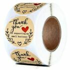 THANK YOU FOR SUPPORTING MY SMALL BUSINESS ENVELOPE SEALS LABELS STICKERS 1'