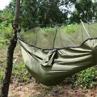 Double Person Hammock with Mosquito Net Netting Hanging Bed Outdoor Camping US