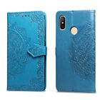 Flower Magnetic Flip Card Wallet Stand Case Cover For Xiaomi Redmi Note 5 Pro 5A