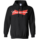 RARE - BUDWEISER Hoodie Sweatshirt Hooded Pullover Gift Christmas For Men Women