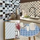 Kitchen Simulation Tile Sticker Mosaic Wall Decal Selfadhesive Home Decor Sk