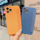 For Iphone 12 Pro Max 11 Xr Xs 7 8 Liquid Silicone Case Leather Card Slot Cover