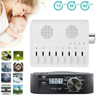 White Noise Machine Aid Sounds Baby Sleeping SPA Therapy Relax 3Timers 8/10Sound