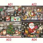 Christmas Window Wall Stickers Decal Snowman Sticker Removable Home Decor Sk