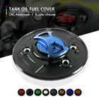 Motorcycle CNC Keyless Tank Fuel Gas Caps Cover for BMW F800 R/S/ST 05-14 F800GS