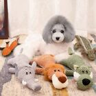 Soft Plush Dog Toys Durable Pet Puppies Chew Toys Cute Funny Dogs Sleeping Toys
