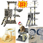 Multi Level Large Cat Tree Scratching Post Kitten Climbing Tower Activity Centre