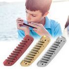 Aluminum Alloy Blues Comb Harmonica Accessory for Golden Melody Red/Gold/Silver