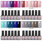 MAD DOLL 6Pcs Gel Nail Set Gel Nail Polish Kit Soak Off Gel UV LED Varnish Decor