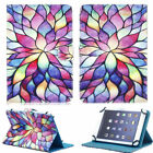 "Folio Leather Pattern Cover Case For Apple iPad 5/6th Air 1/2 9.7"" 7/8th 10.2"""