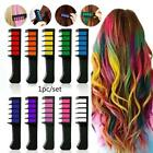 Best  Hair Chalk Comb Temporary Hair DYE Color Soft Pastels Salon Tools Hot