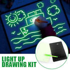 1Set Magic Drawing Tablet Draw with Light Kids Play Toy Arts Doodle Pad