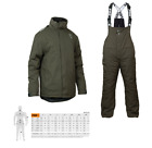 Fox Carp Green & Silver Winter Suit New Version Carp Fishing Thermal Suit