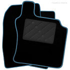 To Fit Fiat 500 HYBRID (2020+) Tailored Car Floor Mats Black [R]