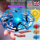 Mini Drone Quad Induction UFO Flying Toy Hand-Controlled RC Kids Xmas Gifts Q2UK