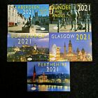 2021 CALENDERS SCOTLAND EDINBURGH GLASGOW DUNDEE PERTHSHIRE ABERDEEN WITH NOTES