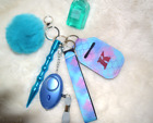 Safety and protection Keychain for HER...Set/ Combo of 6 pieces in one 6 X 1