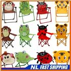 Best! 2x Folding Chairs Kids Childrens Outdoor Patio Garden Chair Seat Armchair