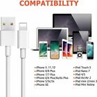 USB Cable Charger Cord For Phone 12, 11, X, 8 7, 6, & 5, Wholesale