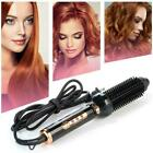 360  Rotating Curler Cordless Automatic Curling Iron Wand Ceramic Hair S5M5