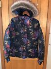 NWT Columbia Women's Lay D Down II Jacket, Floral Black - retail $230