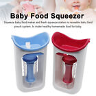 With Reusable Pouch Baby Food Maker Homemade Mill Fruit Juice Squeeze Station