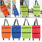 Foldable Shopping Trolley Bag Grocery Bags Vegetables Bag for Women or Men