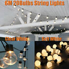 G45 Globe LED String Lights Plug in Outdoor Lights Mains Garden Christmas Decor