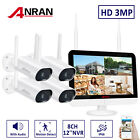 Wireless Security Camera System Outdoor 8CH NVR CCTV 1296P HD Home Kits With 2TB