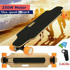 New Longboard Electric Skateboard 250W Motors Moterized Longboard 12mph Portable