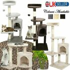 Cat Tree Large Climbing Tower Kitten Scratching Scratcher Bed Activity Centre