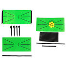 Golf Training Mat Swing Detection Hitting Aid Pad Home Office Indoor/Outdoor