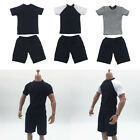 MagiDeal 1/6 MALE SHORT SLEEVES T-SHIRT & SHORTS PANTS FOR 12''
