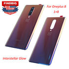 Battery Cover Case Door Back Glass Housing for OnePlus 8 1 8 Interstellar Glow