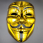 V Vendetta Guy Fawkes Anonymous Hacker Face Mask Halloween Cosplay Party Prop