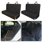 Dogs Back Seat Cover Heavy-Duty Pet Car Seat Cover Rear Back Mat for Cars