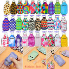 1 PC Keychain Holder Travel Refillable Reusable Containers Bottles Keychains