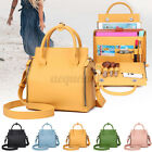 Girls Women Leather Handbag Casual Shoulder Bag Travel Messenger Ladies Bag Gift