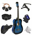 Master-play  Beginner Wood Acoustic Guitar 38 For Boys/Girls/Teens With Accesso